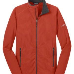 Eddie Bauer Full Zip Vertical Fleece Jacket